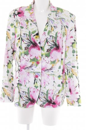 C&A Boyfriend-Blazer florales Muster Romantik-Look