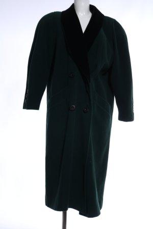 C&A Abrigo de piloto verde-negro look casual