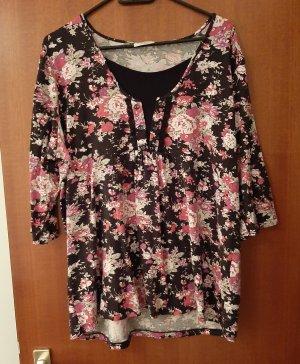 C&A Canda Shirt Top 2 in 1 Optik Blumen