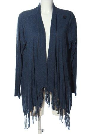 C&A Cardigan blau meliert Casual-Look