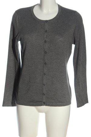 C&A Cardigan grigio chiaro puntinato stile casual