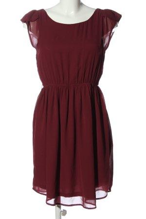 C&A Clockhouse A Line Dress red elegant