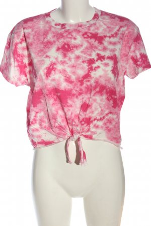 C&A Clockhouse Camisa batik rosa-blanco look casual
