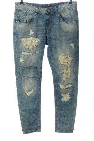 C&A Clockhouse Boyfriend Jeans blue casual look