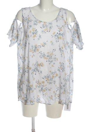 C&A Clockhouse Top épaules dénudées imprimé allover style décontracté