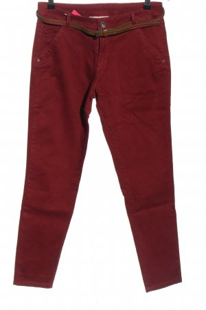 C&A Clockhouse Chinohose rot Casual-Look