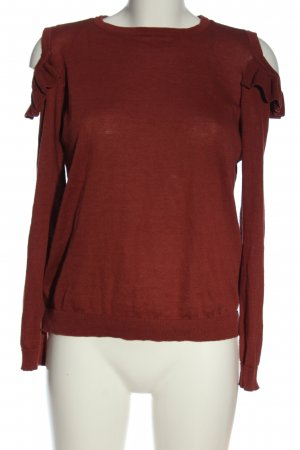 C&A Clockhouse Fine Knit Jumper red casual look