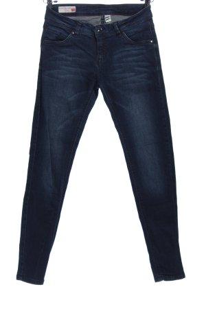 C&A Clockhouse Pantalón de cinco bolsillos azul look casual