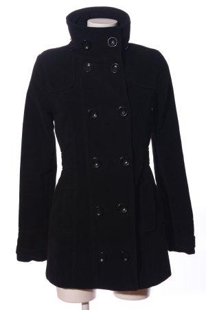 C&A Clockhouse Płaszcz polarowy czarny W stylu casual