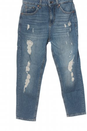 C&A Clockhouse High Waist Jeans blau Casual-Look