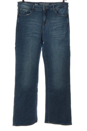 C&A Clockhouse High Waist Jeans blue casual look