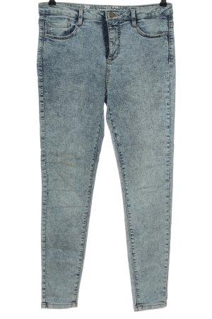C&A Clockhouse Jeans taille haute bleu style décontracté