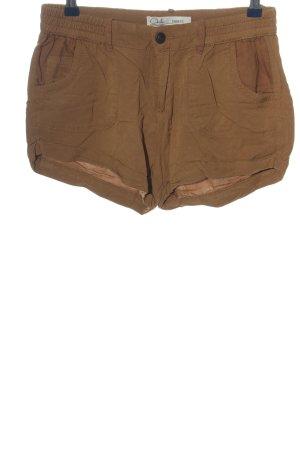 C&A Clockhouse Pantalón corto marrón look casual