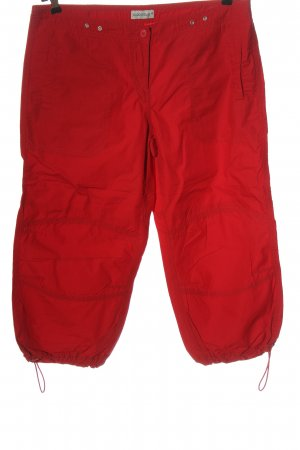C&A Clockhouse Low-Rise Trousers red casual look