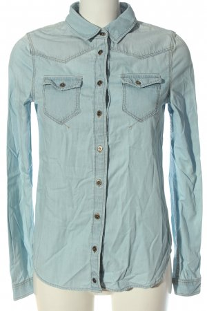 C&A Clockhouse Denim Shirt blue casual look
