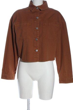 C&A Clockhouse Jeansowa koszula brązowy W stylu casual