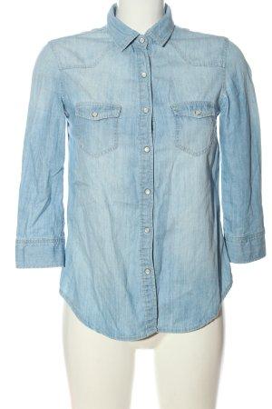 C&A Clockhouse Jeansowa koszula niebieski W stylu casual