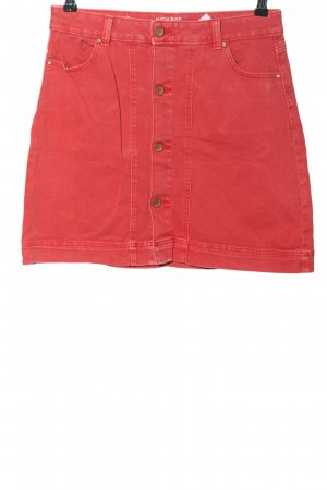 """C&A Clockhouse Jeansowa spódnica """"W-ahpabs"""" czerwony"""