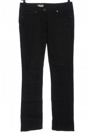 C&A Clockhouse Straight-Leg Jeans schwarz Casual-Look