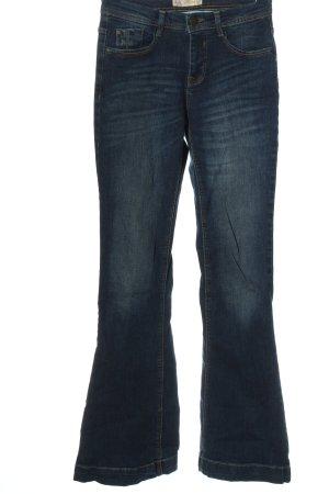 C&A Clockhouse Jeansowe spodnie dzwony niebieski W stylu casual