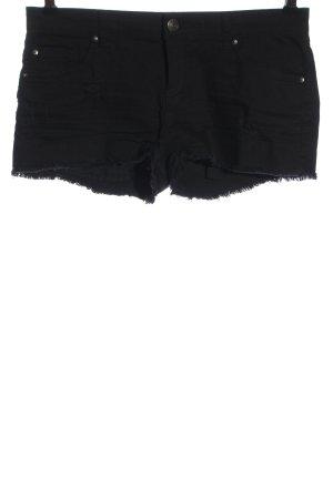 C&A Clockhouse Short en jean noir style décontracté
