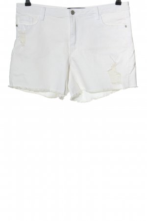 C&A Clockhouse Jeansshorts weiß Casual-Look