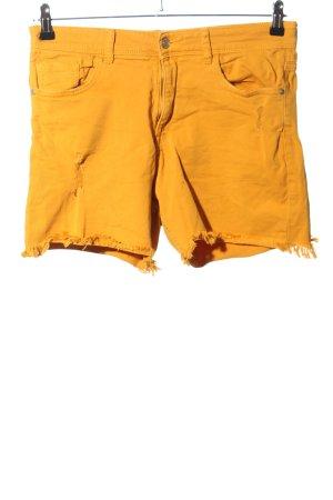 C&A Clockhouse Short en jean orange clair style décontracté
