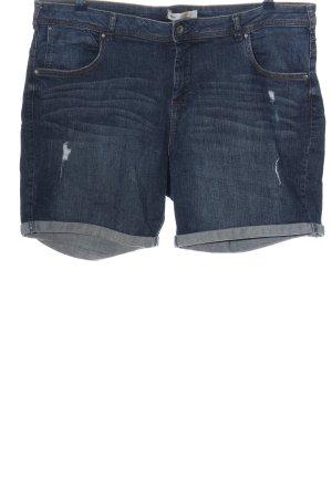 C&A Clockhouse Pantalón corto de tela vaquera azul look casual