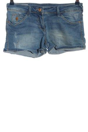 C&A Clockhouse Jeansowe szorty niebieski W stylu casual