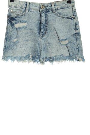 C&A Clockhouse Jeansshorts blau Casual-Look