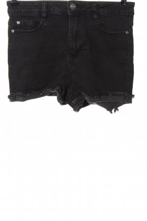 C&A Clockhouse Denim Shorts black casual look
