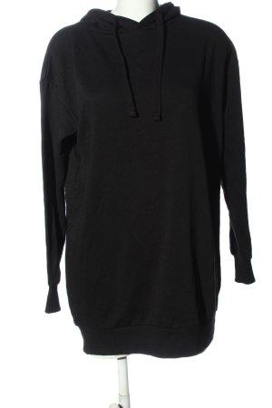 C&A Clockhouse Robe à capuche noir style décontracté