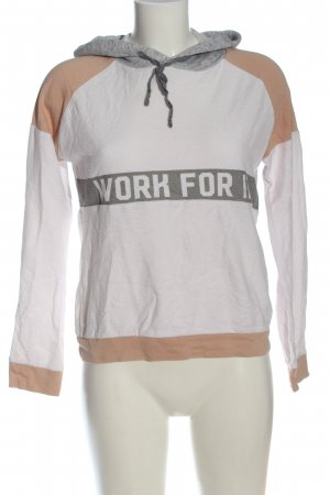 C&A Clockhouse Kapuzensweatshirt Schriftzug gedruckt Casual-Look