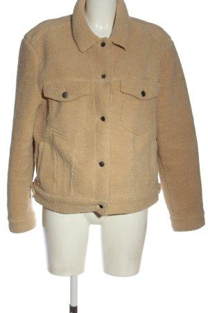 C&A Clockhouse Fake Fur Coat brown casual look