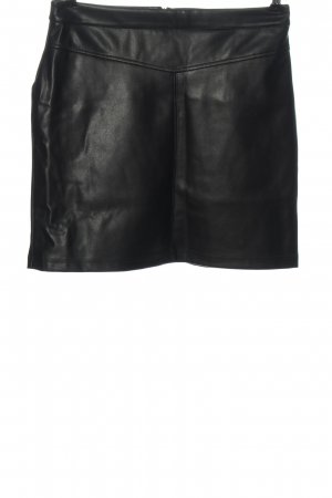 C&A Clockhouse Faux Leather Skirt black casual look