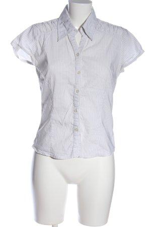 C&A Clockhouse Chemise à manches courtes blanc-noir motif rayé