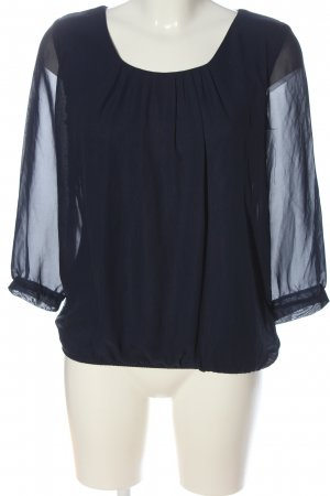 C&A Clockhouse Long Sleeve Blouse blue casual look
