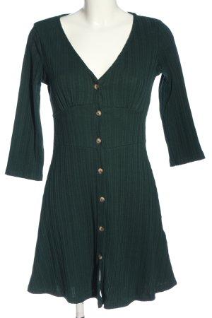 C&A Clockhouse Abito a maniche lunghe verde stile casual