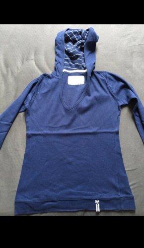 C&A Clockhouse Camicia con cappuccio blu
