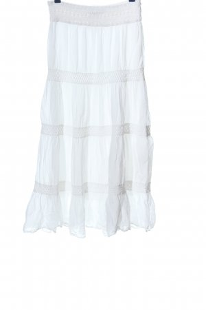 C&A Clockhouse Maxi Skirt white casual look