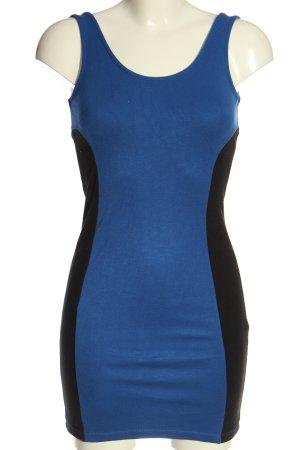 C&A Clockhouse Mini Dress blue-black elegant
