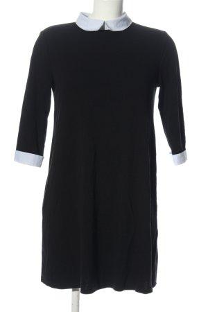 C&A Clockhouse Mini Dress black-white casual look