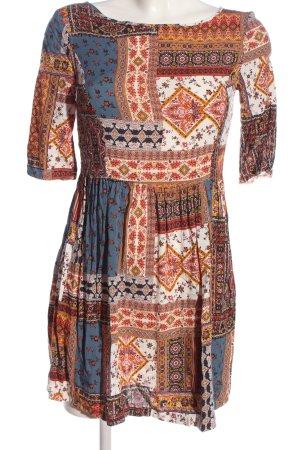 C&A Clockhouse Robe courte imprimé allover style décontracté