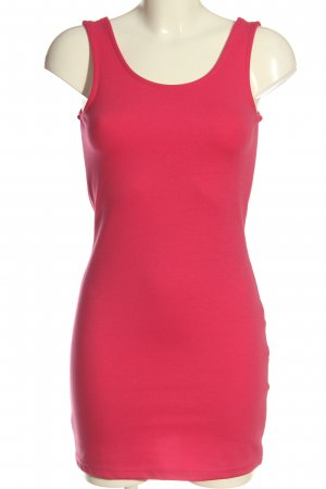 C&A Clockhouse Mini Dress pink-black casual look