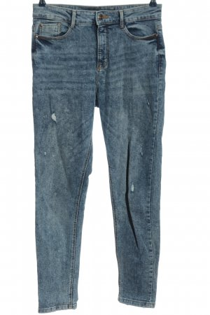 C&A Clockhouse Mom-Jeans blau Casual-Look