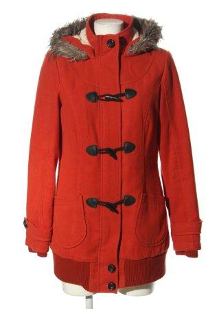 C&A Clockhouse Płaszcz z kapturem czerwony W stylu casual