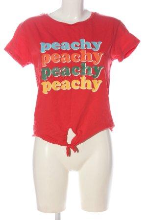 C&A Clockhouse T-shirt imprimé lettrage imprimé style décontracté