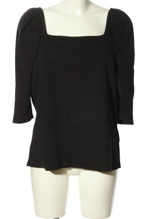 C&A Clockhouse Camisa acanalada negro look casual
