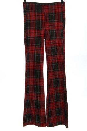 C&A Clockhouse Dzwony czerwony-czarny Na całej powierzchni W stylu casual