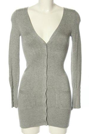 C&A Clockhouse Veste chemise gris clair moucheté style décontracté
